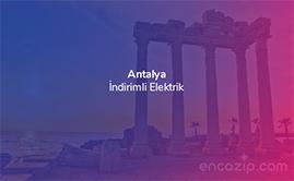 Antalya İndirimli Elektrik